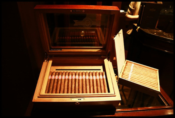 Zigarren aufbewahren